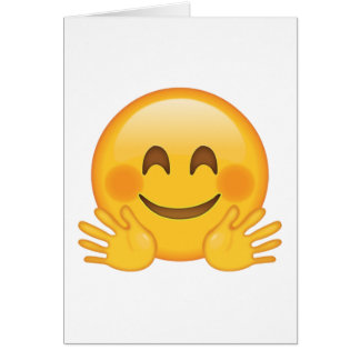 Hugging Face - Emoji Card