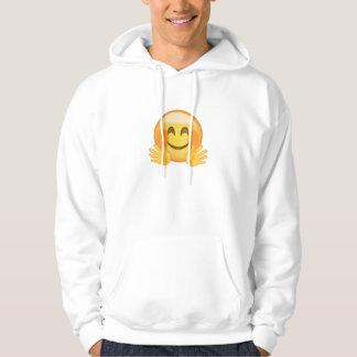 Hugging Face Emoji Hoodie