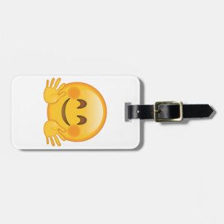 Hugging Face - Emoji Luggage Tag
