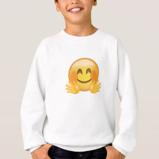 Hugging Face Emoji Sweatshirt