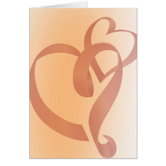 Hugging Ribbon Card