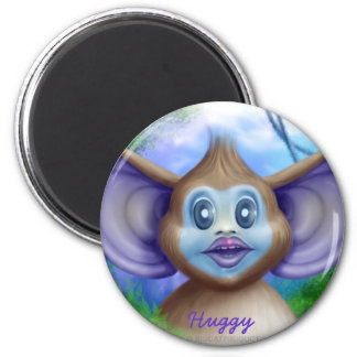 Huggy 6 Cm Round Magnet