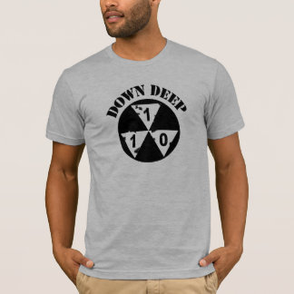 Hugh Howey Down Deep Supply Front Only Shirt