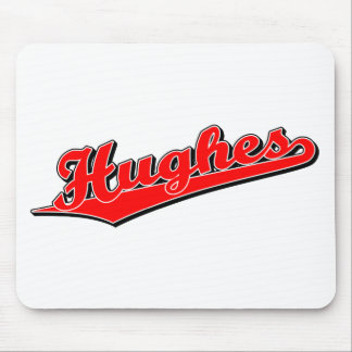 Hughes in Red Mouse Pad