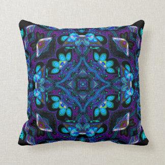 Hughie Kattorz Mandala Pillow