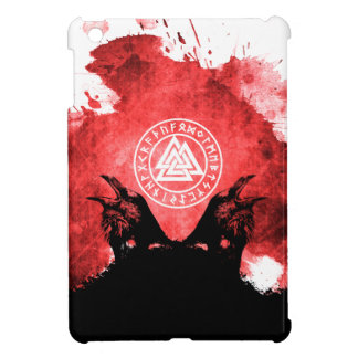 Huginn and Muninn Odin's Ravens Cover For The iPad Mini
