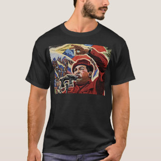 Hugo Chavez - Cartoon Revolution style T-Shirt
