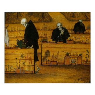 Hugo Simberg's Garden of Death Poster