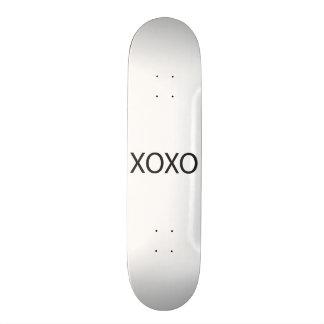 Hugs and Kisses.ai Custom Skate Board
