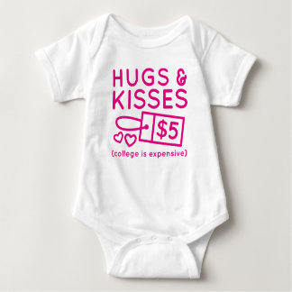 Hugs And Kisses Baby Bodysuit