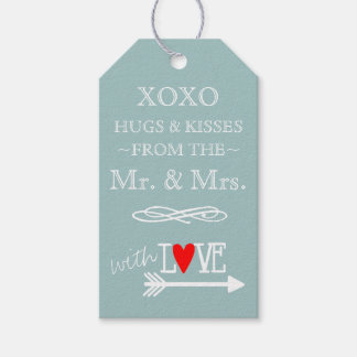 Hugs and Kisses From The Mr and Mrs Blue