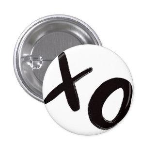 Hugs and Kisses XO Button