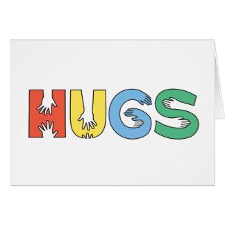 HUGS (Color) - A7 (Landscape) Card
