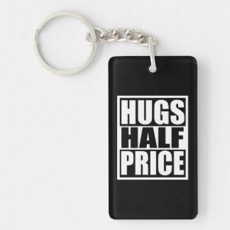 Hugs Half Price Key Ring
