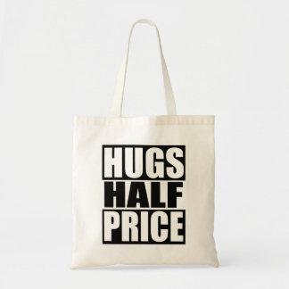 Hugs Half Price Tote Bag