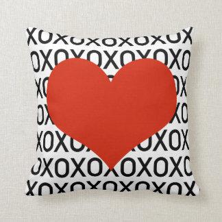 Hugs, Kisses & a Big Heart Cushion