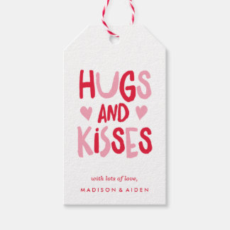 Hugs & Kisses | Gift Tags