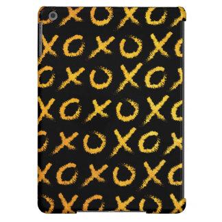 Hugs & Kisses (gold) iPad Air Cases