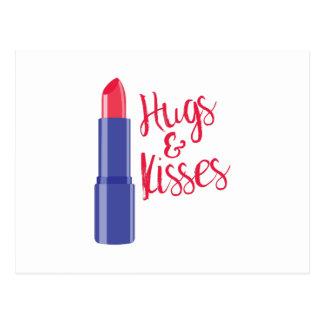 Hugs & Kisses Postcard