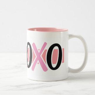 Hugs & Kisses Valentine Mug