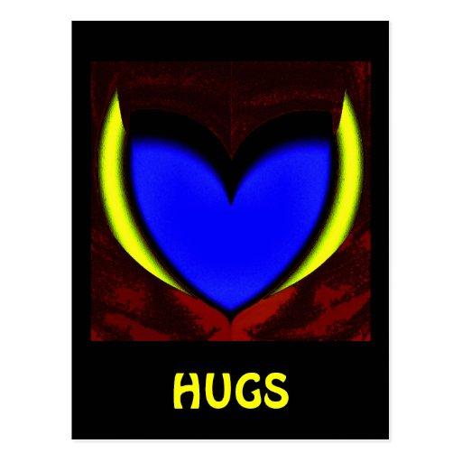 Hugs Postcard