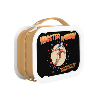 Hugster Woman Lunchbox