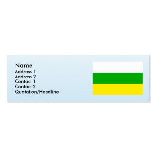 Huila Columbia Business Card
