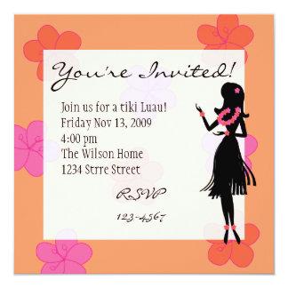Hula Blooms Card