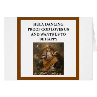 HULA CARD
