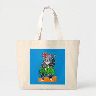 Hula Cat Beach bag