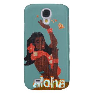 Hula Dancer Aloha by Island Map Samsung Galaxy S4 Case