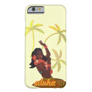 Hula Dancer Aloha Hawaii Palm Trees Barely There iPhone 6 Case