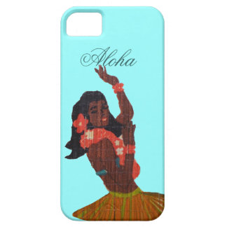Hula Dancer Aloha Seafoam green Case For The iPhone 5