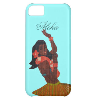Hula Dancer Aloha Seafoam green iPhone 5C Case
