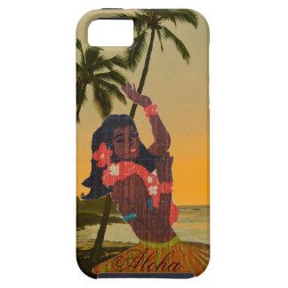 Hula Dancer on Hawaiian Beach Case For The iPhone 5