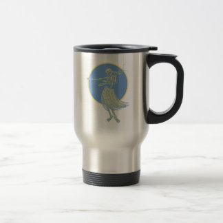 Hula Death Luau Coffee Mugs