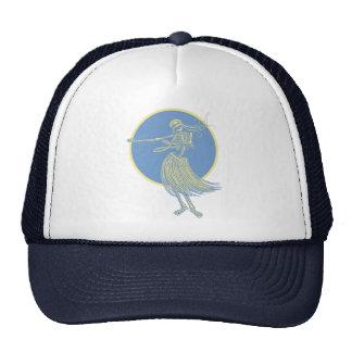Hula Death Luau Mesh Hat