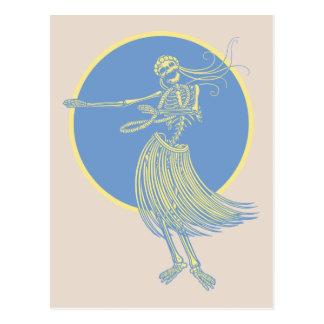 Hula Death Luau Postcard
