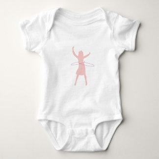 hula girl baby bodysuit
