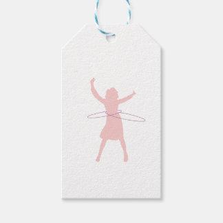 hula girl gift tags