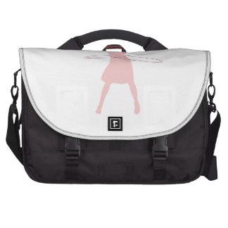 hula girl laptop shoulder bag