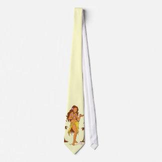 Hula Girl Necktie