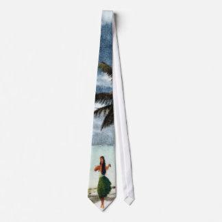 hula girl tie