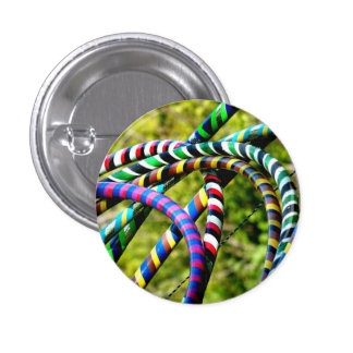 Hula Hoops 3 Cm Round Badge