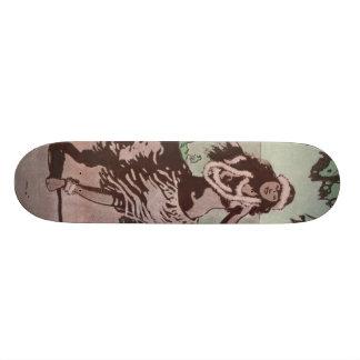 Hula Hula Girl 21.3 Cm Mini Skateboard Deck