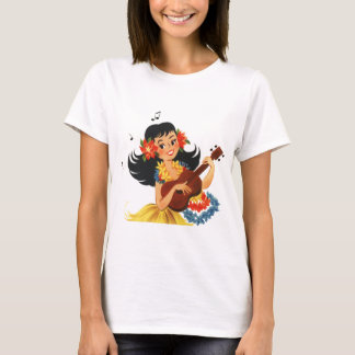 Hula Hula Girl T-Shirt