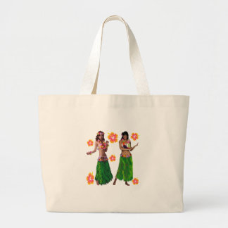 hula kaiko large tote bag