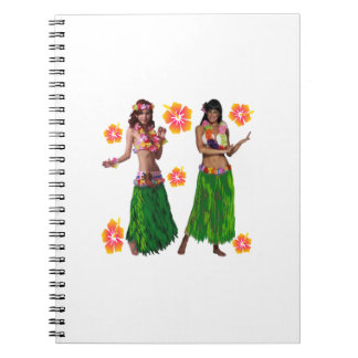 hula kaiko spiral notebook