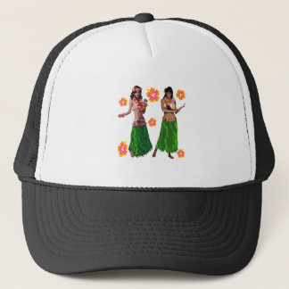 hula kaiko trucker hat