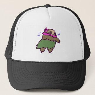 Hula Sloth Trucker Hat